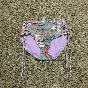 No Boundaries high waist bikini bottom